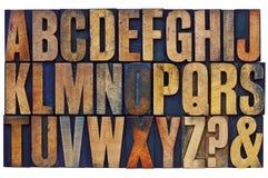 Extracto del alfabeto Fotos de archivo