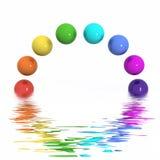 Extracto del arco iris Fotografía de archivo
