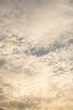 Extracto del cielo Fotos de archivo libres de regalías