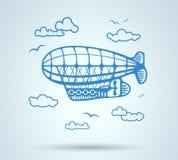 Extracto del dirigible, stylization, vector Imagen de archivo libre de regalías