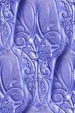 Extracto del diseño de la plata de la vendimia Fotos de archivo libres de regalías