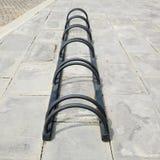 Extracto del estacionamiento de la bicicleta Imagenes de archivo
