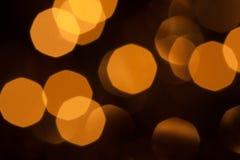 Extracto del fondo de luces borrosas Imagen de archivo libre de regalías