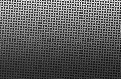 Extracto del fondo del metal con los agujeros traseros libre illustration