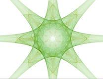 Extracto del fractal - estrella Foto de archivo libre de regalías