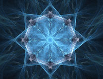 Extracto del fractal - estrella (fondo) Fotografía de archivo