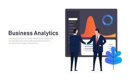 Extracto del funcionamiento financiero del tablero de instrumentos de los datos de negocio del Analytics Apretón de manos del enc foto de archivo libre de regalías