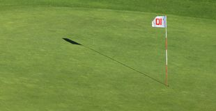 Extracto del golf Imagen de archivo libre de regalías