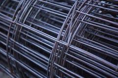 Extracto del metal de rejilla Fotos de archivo libres de regalías
