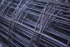 Extracto del metal de rejilla Imágenes de archivo libres de regalías