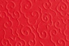 Extracto del modelo chino rojo Imagen de archivo
