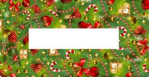 Extracto del regalo de Navidad Fotos de archivo