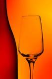 Extracto del vidrio de la botella y de vino Fotos de archivo