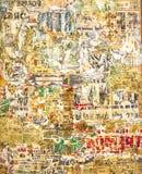 Extracto en la pared imagen de archivo libre de regalías