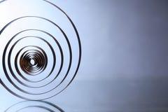 Extracto espiral del concepto Imagen de archivo libre de regalías