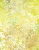 Extracto floral de Grunge Foto de archivo libre de regalías
