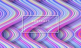 Extracto, fondo colorido dinámico y texturizado, moderno del flujo para su elemento del diseño y otros ilustración del vector