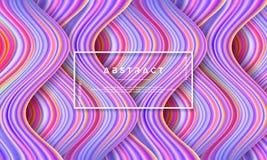 Extracto, fondo colorido dinámico y texturizado, moderno del flujo para su elemento del diseño y otros libre illustration