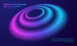 Extracto, fondo dinámico, moderno del círculo para su elemento del diseño y otros ilustración del vector