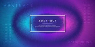 Extracto, fondos dinámicos, modernos para sus elementos del diseño y otros, con color púrpura y azul claro de la pendiente stock de ilustración