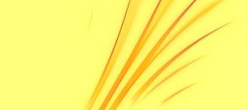 Extracto frondoso amarillo Curvy fotografía de archivo