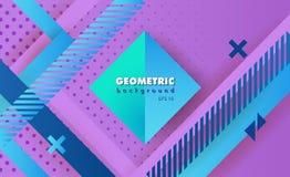 Extracto geométrico del inconformista Fotografía de archivo libre de regalías