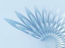Extracto geométrico Wing-shaped Fotos de archivo libres de regalías
