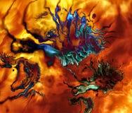 Extracto I del fractal Fotos de archivo