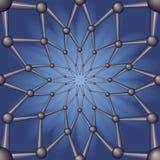 Extracto inconsútil del modelo geométrico. Foto de archivo libre de regalías