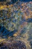 Extracto móvil de la montaña del río Fotos de archivo libres de regalías