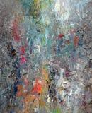 Extracto mezclado de la pintura fotografía de archivo libre de regalías