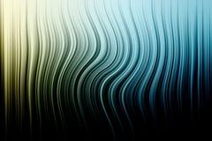 Extracto ondulado en colores pastel Imagen de archivo