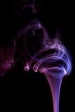 Extracto púrpura del humo Imagen de archivo libre de regalías
