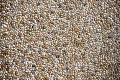 Extracto - pequeña textura de los guijarros - piedras redondas minúsculas Imagen de archivo libre de regalías