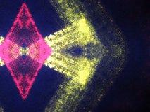 Extracto pintado colorido de la tela foto de archivo libre de regalías