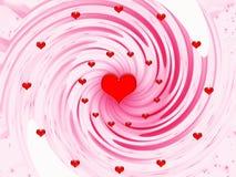 Extracto por días de fiesta - día de tarjetas del día de San Valentín stock de ilustración