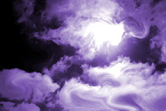 Extracto power- púrpura Fotografía de archivo