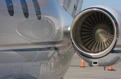 Extracto privado del jet Fotos de archivo libres de regalías