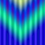 Extracto rayado del verde azul Ilustración del Vector