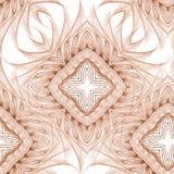 Extracto rizado del azulejo del diamante Fotos de archivo