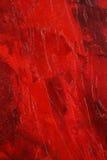 Extracto rojo de la pintura Fotos de archivo libres de regalías
