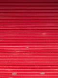 Extracto rojo de la puerta Fotos de archivo libres de regalías