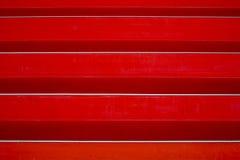 Extracto rojo de las escaleras imagen de archivo