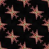 Extracto rojo del modelo geométrico Imagen de archivo libre de regalías
