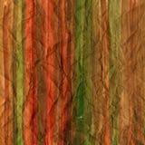 Extracto rojo marrón y verde de la acuarela Imagen de archivo