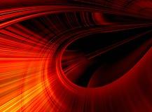 Extracto rojo y negro Fotos de archivo