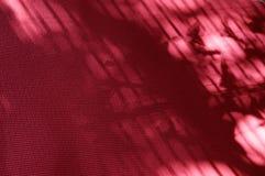Extracto rosado de la estera de la yoga Fotografía de archivo