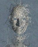 Extracto surrealista de la máscara Fotografía de archivo libre de regalías