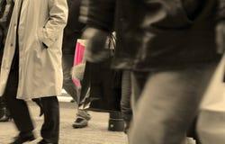 Extracto urbano de las compras Imagenes de archivo
