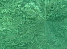 Extracto verde ilustración del vector